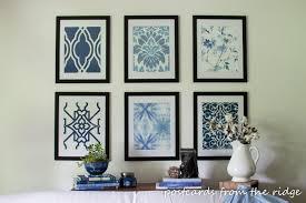 diy awesome diy framed art home decor color trends excellent