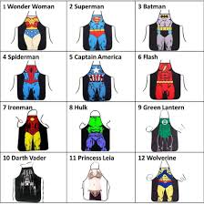 Custom Aprons For Men Superman Apron Ebay