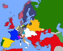 Blank Map Of Wwi Europe by Blank Map Of Europe In 1700 Calendar
