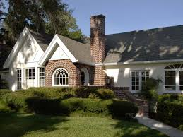 cottage style home traditional exterior with cottage style homes brick and white cottage home this cottage home takes a cue from with cottage style homes