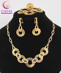 fashion jewelry necklace set images African jewelry sets hot sale dubai vintage luxury crystal wedding jpg