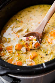 corn recipes for thanksgiving slow cooker light chicken corn chowder sallys baking addiction