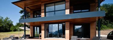 interieur maison bois contemporaine scmc maisons ossature bois savoie 73 et haute savoie 74