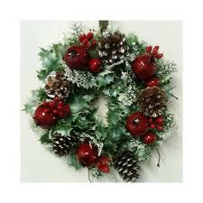 variegated wreath 10 artificial wreaths