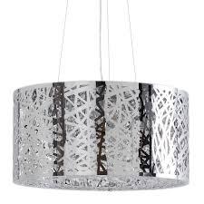jena 7 light ceiling light polished chrome pagazzi lighting
