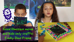 the good dinosaur craft let u0027s talk movie and diy picture frames