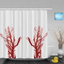 Blood Shower Curtain Bathroom Curtains Blood Promotion Shop For Promotional Bathroom