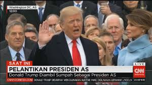 donald trump presiden amerika super cool pelantikan donald trump pidato pertama sebagai presiden