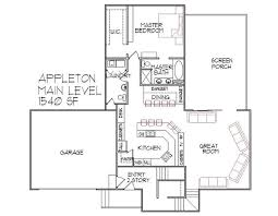 3 Bedroom Open Floor House Plans 12 Best Home Plans Images On Pinterest Open Floor Plans Cabin