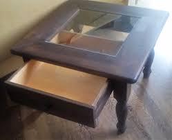 Wohnzimmertisch Holz Quadratisch Couchtisch Holz Mit Couchtisch Holz Mit Glasplatte U Patrial For