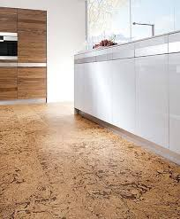 cork can be used in virtually any space here a fabulous kitchen
