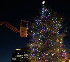 Commercial Christmas Decorations Installation by Christmas Light Hanging Service Professional Christmas Decorators