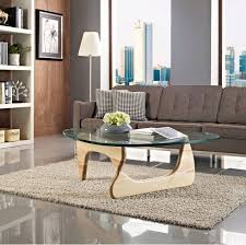 glass coffee table wooden legs triangle glass coffee table with wooden legs china furniture