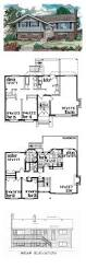 split level floor plans 16 best split level house plans images on pinterest split level