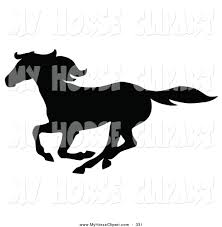 mustang horse silhouette royalty free mustang stock horse designs