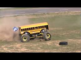 bus monster truck videos this bus monster truck is killing the stage like a boss insane
