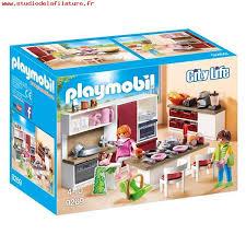 jeux imitation cuisine 9269 cuisine aménagée playmobil playmobil king jouet playmobil