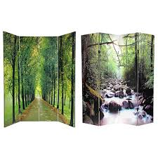 oriental furniture 6 foot double sided path of life room divider