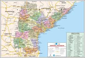 Map Of India Cities Andhra Pradesh U0026 Telangana Travel Map Andhra Pradesh State Map