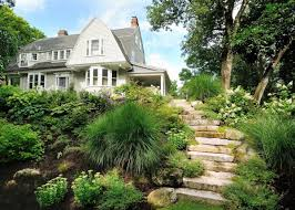 Landscaping Ideas For Slopes Awesome Hillside Landscape Design Ideas Pictures Decorating