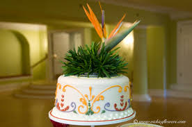 Tropical Themed Wedding Cakes - wedding cake toppers vickie u0027s flowers brighton co florist