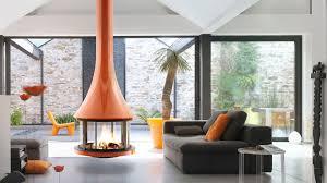 jc bordelet zelia 908 suspended wood burning stove fireplace