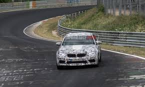 prototype drive 2018 bmw m5 2018 bmw m5 prototypes continue testing at nurburgring video