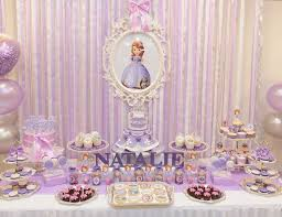 sofia the first table sofia the first birthday natalie the first catch my party