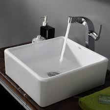 Ceramic Sink KrausUSAcom - Square sinks kitchen
