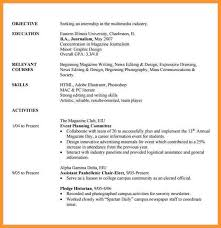 opulent design internship resume template 2 resume for internship