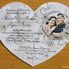 wedding invitations durban puzzle invitations cape town south africa