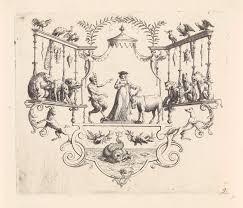 bernard picart sater geleerde en een ezel bernard picart 1718