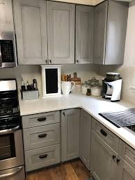 kitchens with light gray kitchen cabinets light gray assembled kitchen cabinets light grey