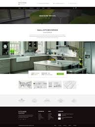 Kitchen Design Template by Kitchen Psd Template By Qtcmedia Themeforest