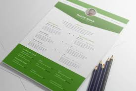 Resume Template Design Free Free Psd Resume Template In Four Colors