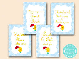 baby shower sign in book bubbles duck baby shower signs magical printable