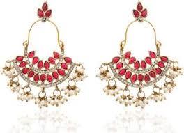 Chandelier Earrings India Chandelier Earrings Buy Chandelier Earrings At Best