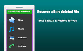 recover all my deleted file android apps on google play