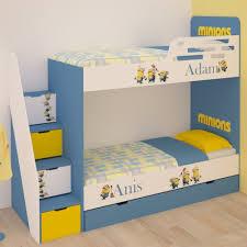 chambre garçon lit superposé lits superposés pour enfants à thème sur mesure