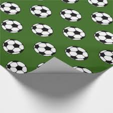 soccer wrapping paper football field wrapping paper zazzle