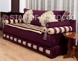 Royal Purple Gold Moroccan Sofa Moroccan Design Pinterest - Moroccan living room furniture