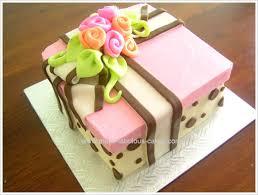 birthday flower cake birthday cake idea a floral gift box cake