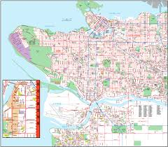 Map Of Vancouver Canada Vancouver City Map Pdf Books With Free Ebook Downloads Available