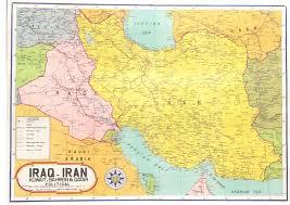 map iran iraq iraq and iran map zoom