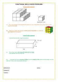 complete volume of cuboids lesson by happy00 teaching resources