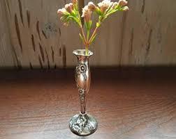 Cut Glass Bud Vase Vases Sale Vintage Bud Vase Etsy