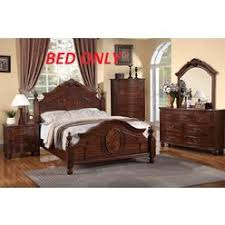 Sleigh King Size Bed Frame King Cal King Sleigh Bed Frame Warmbrown Finish