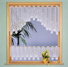 bistrogardinen küche gardinen vorhang bistro gardine c bogen set 2 tlg mit