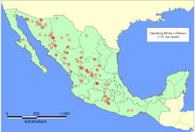 Map Of Zacatecas Mexico by Mineral Resources In Mexico Gambusino Prospector