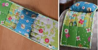 Armchair Caddies A Pincushion Caddy For Your Favorite Armchair Quilting Digest